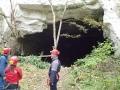 Entrée des mines de Caumont