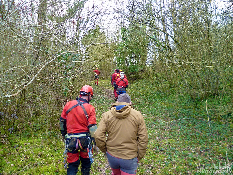 groupe spéléologique de rennes GSR Bretagne Rennes Spéléo Secours Français Mayenne 53 exercice de secours grotte du rey